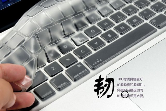 """Free shipping silicone keyboard cover protector for macbook 13"""" 15"""" air, for macbook air keyboard skin cover, without packing"""