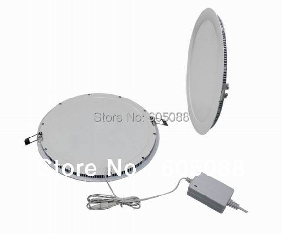 "2018 New High Quality 10"" round led panel light 18w Epistar SMD 3528 mini led flat panel lamps CRI>80 white color 1360lm CE&ROHS"