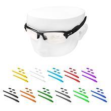 OOWLIT zestawy gumowe noski & Earsocks for Oakley Flak 2.0 XL OO9295 okulary przeciwsłoneczne