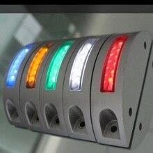 Дороги, шоссе сигнальная движения алюминия солнечный стержень сид безопасность лампа led