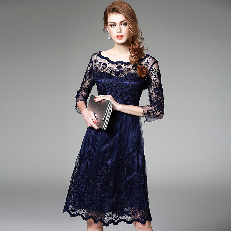 Aliexpress  Buy Vintage Embroidery Dress 2016 New