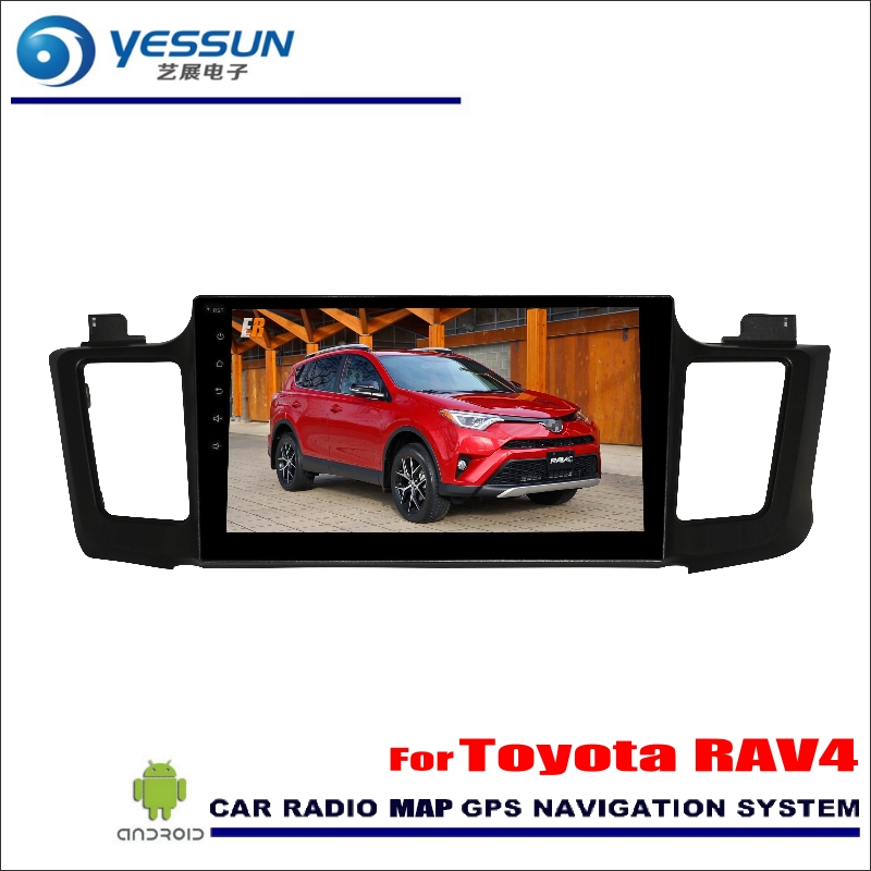 YESSUN For Toyota RAV4 RAV 4 2016~2017 Car Android Radio Audio GPS Player Navi Nav Map Stereo Multimedia (No CD DVD) eunavi 7 2 din android 7 1 8 1 car dvd player radio multimedia gps navi for toyota rav 4 rav4 audio stereo 2din rds wifi usb