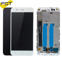 For Xiaomi Mi A1 LCD Display+Touch Screen For Xiaomi Mi5X LCD Digitizer Replacement for Mi 5X MiA1 Mi A1 LCD with Frame