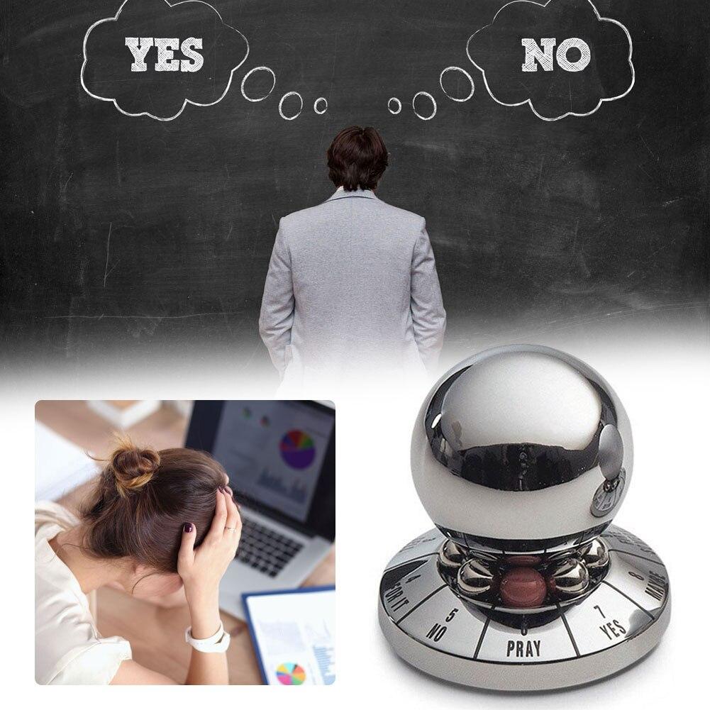 1 шт. немецкий креативный магический шар предвещает шар для принятия решений, устройство для принятия решений, предназначение, предсказать миниатюрный трюк, игрушка, офисный дисплей