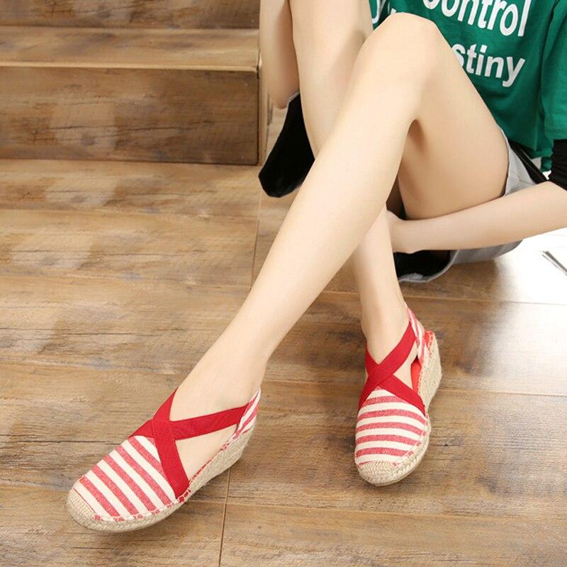 Γυναίκες Espadrilles Σφήνες Σφήνα Άγκυρα - Γυναικεία παπούτσια - Φωτογραφία 6
