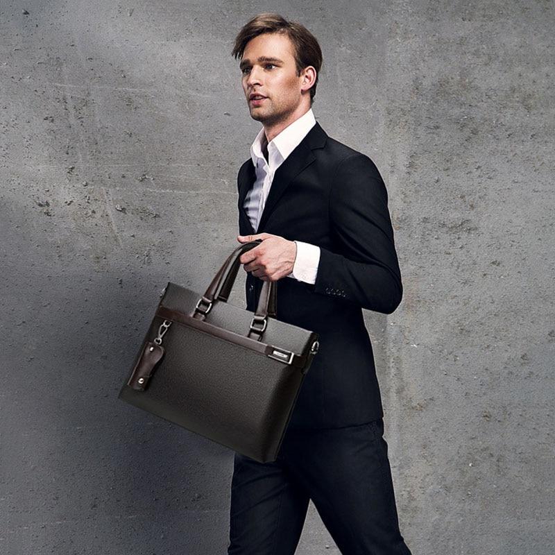 2017 Novi modni muškarci Poslovna aktovka muška torba casual - Aktovke - Foto 2