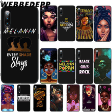 WEBBEDEPP Melanin Poppin Queen Soft TPU Case Cover for Xiaomi Mi 6 8 A2 Lite 6 9 A1 Mix 2s Max 3 F1 Case webbedepp little mix soft tpu case cover for xiaomi mi 6 8 a2 lite 6 9 a1 mix 2s max 3 f1 case