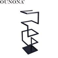 OUNONA Creative Umbrella Stand Holder Metal Umbrella Rack Storage Organizer for Hallway Entryway Office