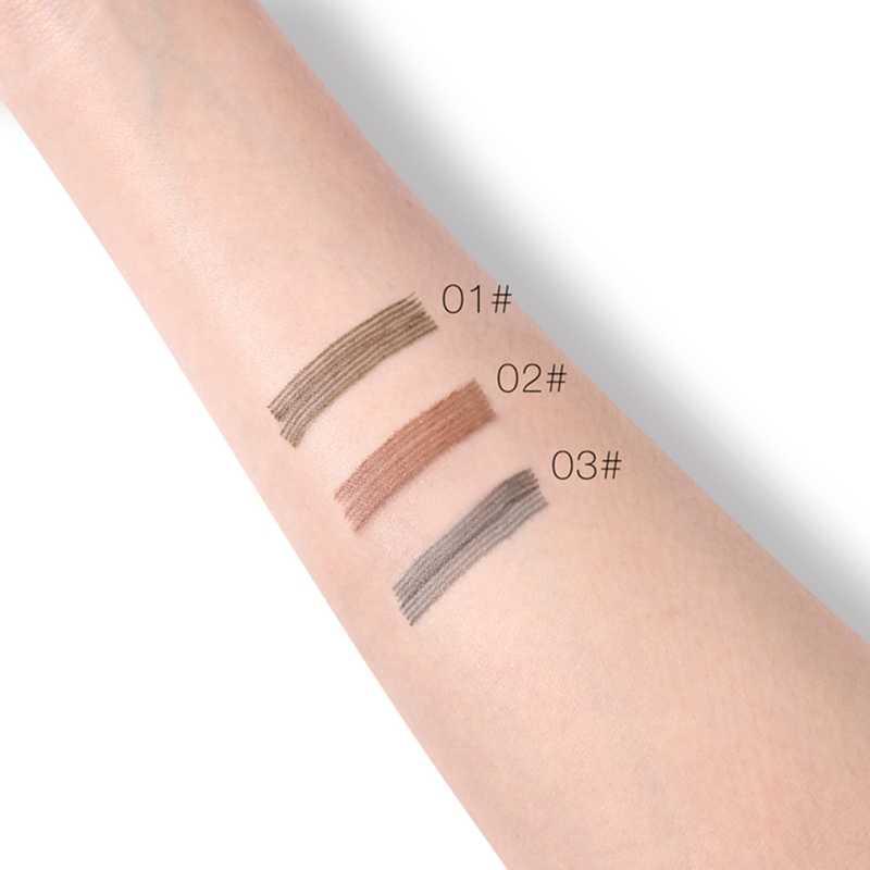 UCANBE Marca de Maquiagem Tatuagem Esboço Lápis de Sobrancelha Impermeável Durável Smudge-proof Olho Pigmentado Potenciadores de Sobrancelhas Pen Cosméticos Set