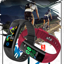 LIGE New IP67 Waterproof Men Women Sports Pedometer Fitness Tracker Smart Bracelet Sphygmomanometer Wristband PK mi band 3
