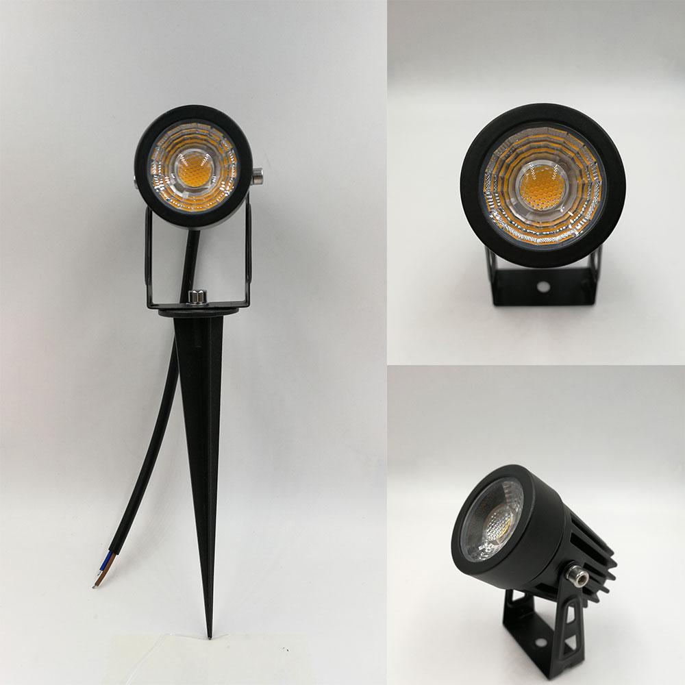Free Shipping MINI Outdoor Spotlight Led 3W 5W Spike Led Spotlight 12V 110V 220V Waterproof Spotlight For Garden Lighting