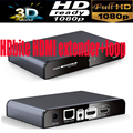 HDMI Receiver for LKV383pro HDbite HDMI extender with IR&HDMi Loop up to 120M suports 1 Transmitter to N receivers