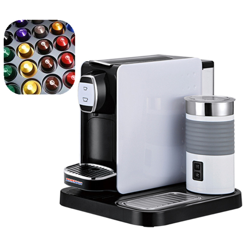 LAVAZZ POINT automatic capsule coffee machine high quality capsule espresso electric coffee maker household fully automatic coffee maker cup portable mini burr coffee makers cup usb rechargeable capsule coffee machine