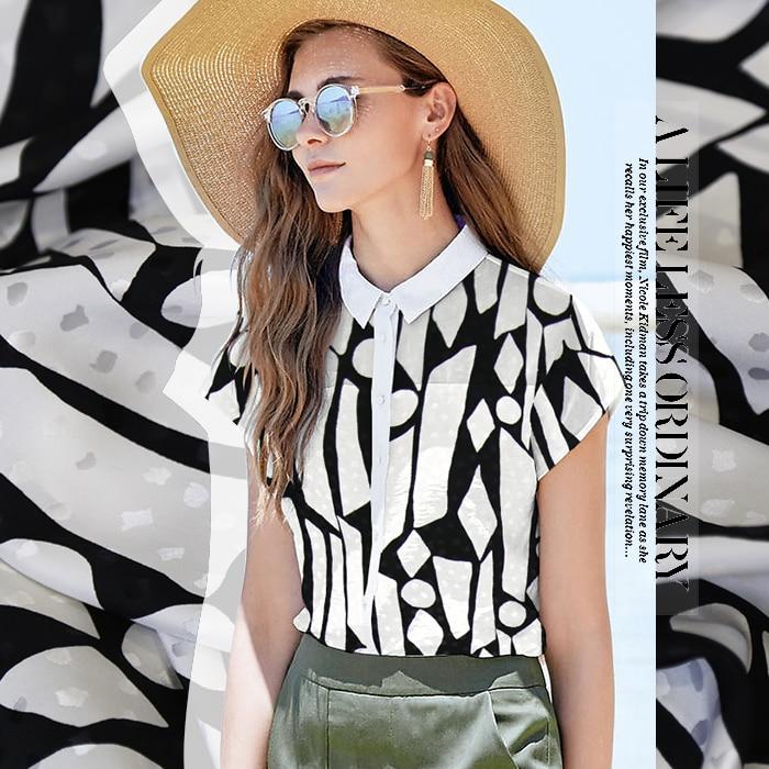 b598782b20a Индивидуальные высококачественные ткани из атласного шелка Черный и белый  цвета двойной платье с принтом для девочек юбка платье-футболка