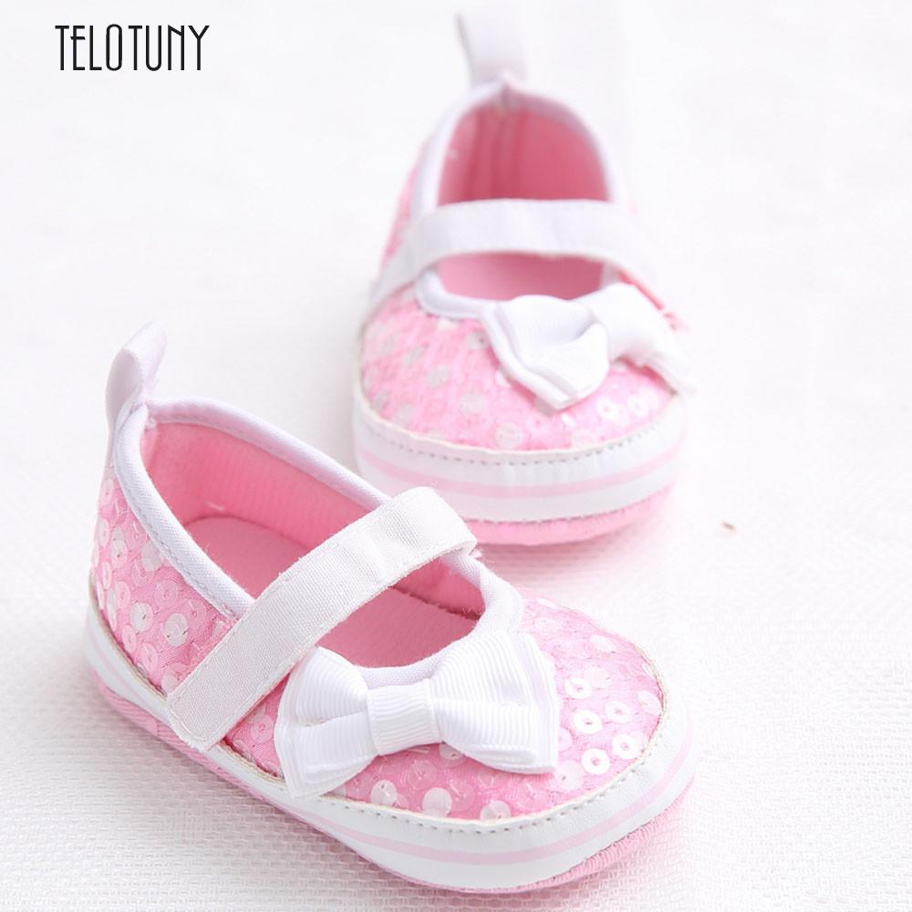 TELOTUNY Baby Infant Kids Girl Soft Sole Crib Toddler Newborn Shoes comfortable Crib Shoes Cloth Soft S3FEB26