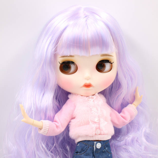 Susan – Premium Custom Blythe Doll with Clothes Cute Face