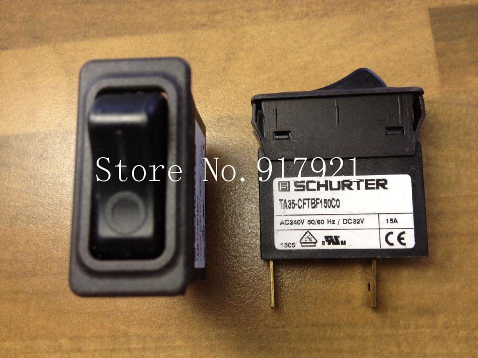 [ZOB] The original schurte device of R circuit breaker TA35-CFTBF150C0 ship two switch button 15A --5pcs/lot [zob] original multi9 c60n 15a d original france mg 17471 circuit breaker 3p15a 5pcs lot