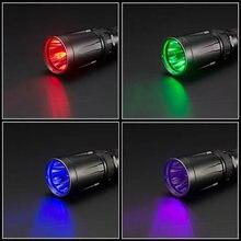 TOPSALE NITECORE SRT7GT 1000 التجويف 4 ألوان ضوء المصباح الذكي محدد حلقة مقاوم للماء البحث تورشين الصيد 18650 بطارية