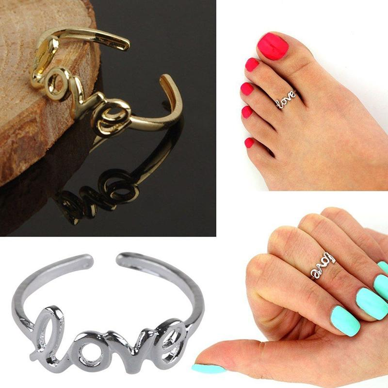 CoutureJewelers Sterling Silver Feet Toe Ring