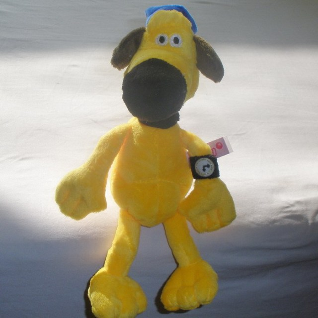 25cm 35cm 50cm Plush dog toy doll shepherd yellow BITZER Children Birthday gift 1pcs