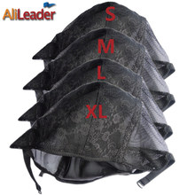 Hot Selling 5 Pcs New Fishnet Mesh Wig Cap Stretchable Lace