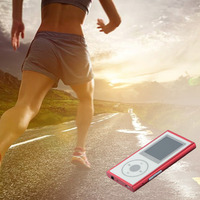 4/8 GB Bluetooth MP3/4 Musik Video Film Player FM Radio Recorder Musik-player Photo Viewer Ebook uhr Funktion Walkman Tf-karte