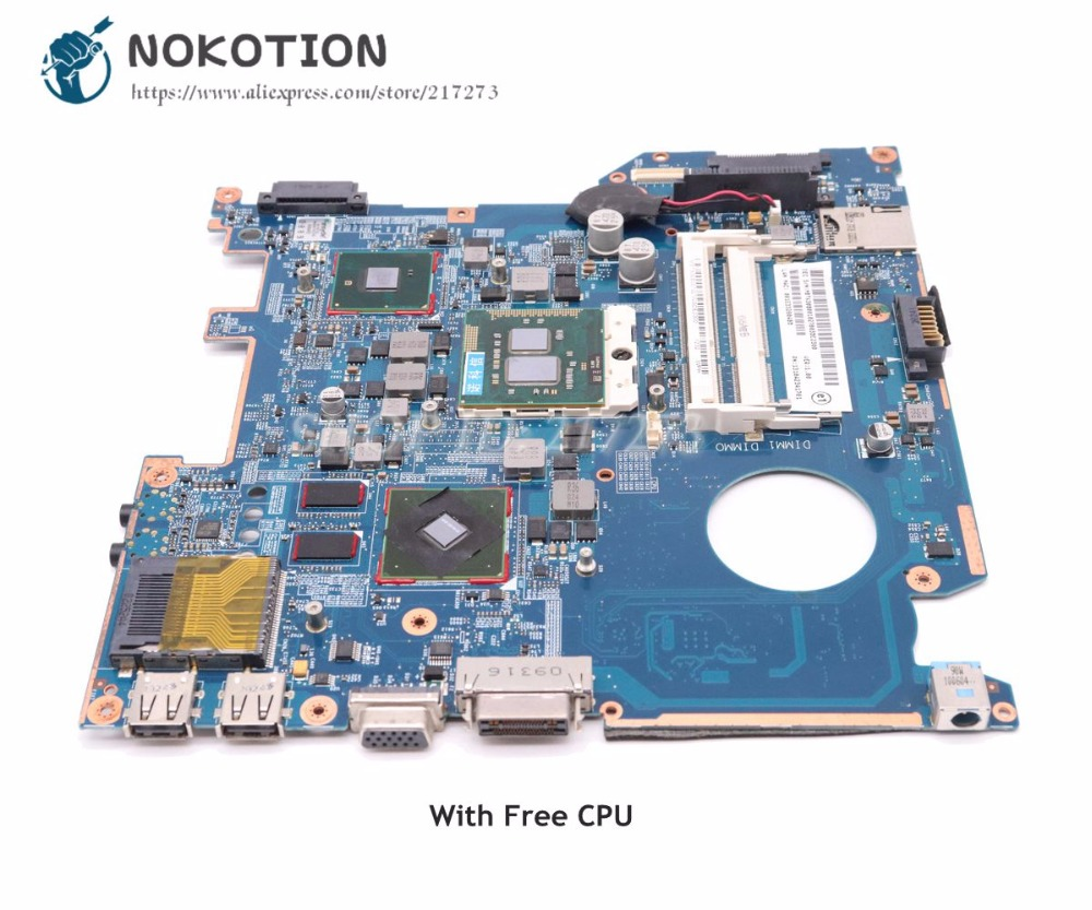 NOKOTION For <font><b>Acer</b></font> <font><b>TravelMate</b></font> <font><b>8372</b></font> Laptop Motherboard HM55 DDR3 Free CPU MBYX30B001 1310A2341701 MB-A02 6050A2341701 image
