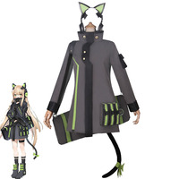 New Game Girls Frontline Tmp Cosplay Costume Girls Cute Battle Outfits Halloween Carnival Unifroms Custom Made