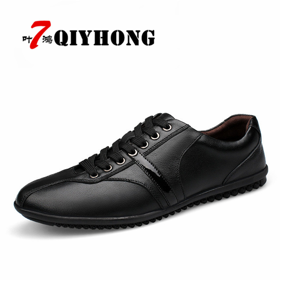 Winter Add Fur  Zapatos Hombre Tops Men Shoes Male Casual Shoes  Super  Boots Genuine Leather Black Ankle Booties Casual Boots