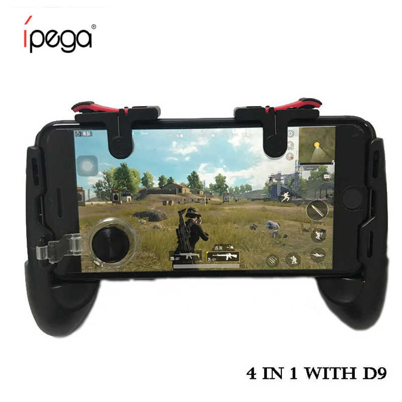 ipega Pubg Mobile Gamepad Pubg Controller for Phone Grip with Joystick / Trigge L1R1  for iPhone Android IOS Mobile Legends Game
