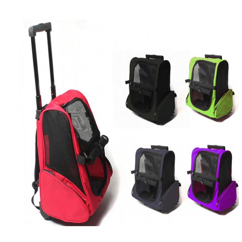 TRAVEL TALE Foldable cats trolley luggage backpack Pet case Carrier Trolley Dog Puppy Kitten Pet