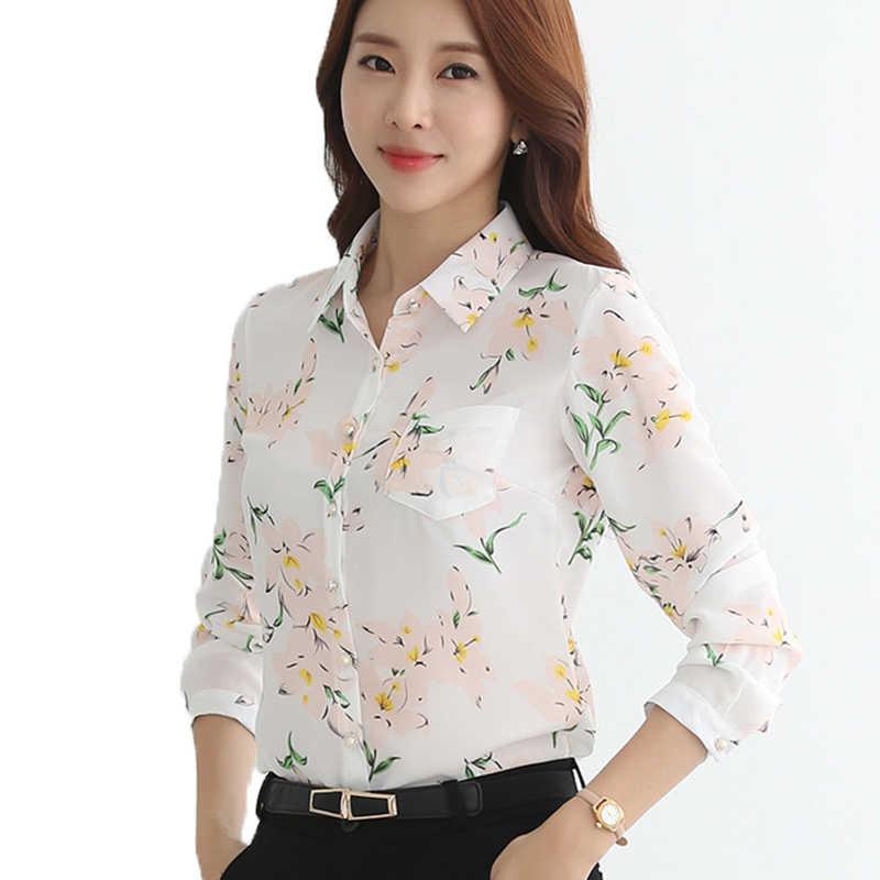 b5432afd692 2018 сезон  весна-лето новый плюс размеры для женщин блузка рубашка  элегантный топы футболки