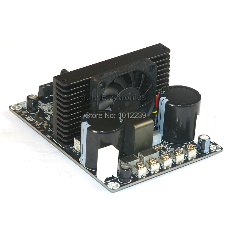 750 Watt Class D Audio Amplifier Board - 750W IRS2092 Mono Power Amp Subwoofer