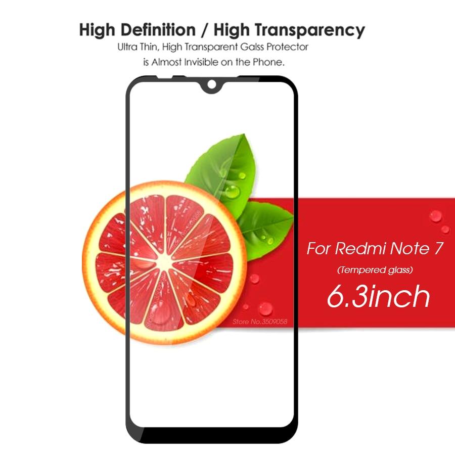 Suntaiho 9H Tempered Glass For Xiaomi Redmi Note 7 Full Cover Protective film Screen Protector For Redmi Note5 5Por For redmi 4X