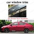 Для N-issan  Новое солнечное окно  отделка  внешние аксессуары для автомобиля  нержавеющая сталь  украшение для автомобиля