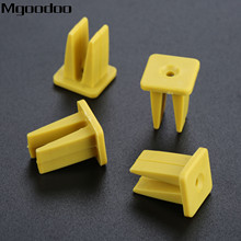 Mgoodoo 20Pcs For All The Car Self tapping screw holder Auto Headlight Fastener Decorative Clip Cover Fixed Clamp K17