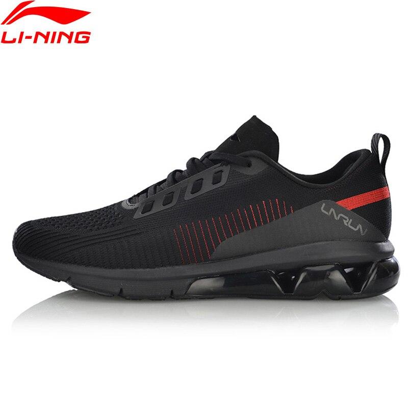 Li-Ning/мужские кроссовки для бега с воздушной дугой и воздушной подушкой, дышащие кроссовки с подкладкой из пряжи ARHN075 XYP810