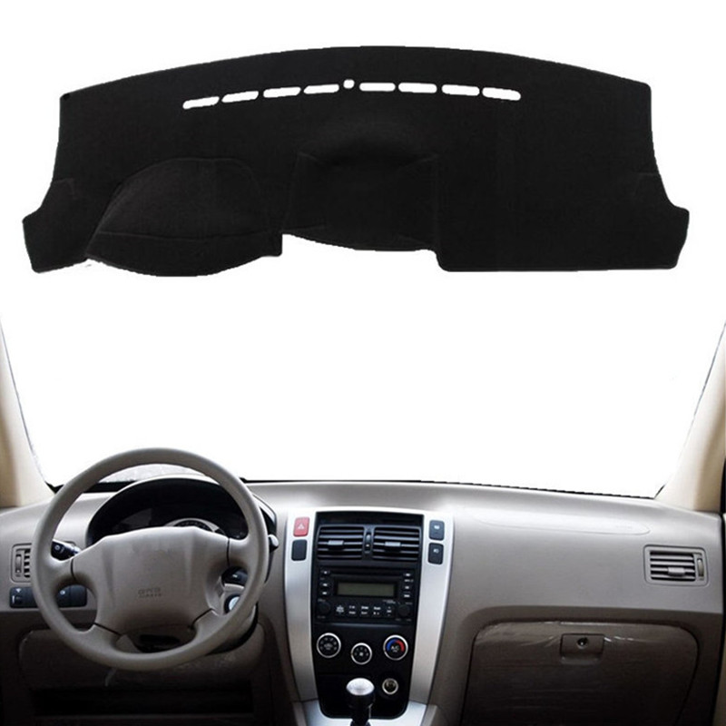 Car Styling Dashboard Cover Mat Pad Sun Shade Instrument Protect Carpet <font><b>Accessories</b></font> For <font><b>Hyundai</b></font> <font><b>Tucson</b></font> <font><b>2005</b></font> 2006 2007 2008 2009 image