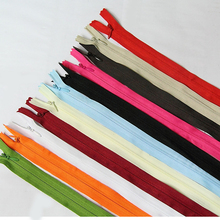50pcs/lot  Mixed color 50cm invisible zipper cushion pillow clothing dress DIY sewing supplies
