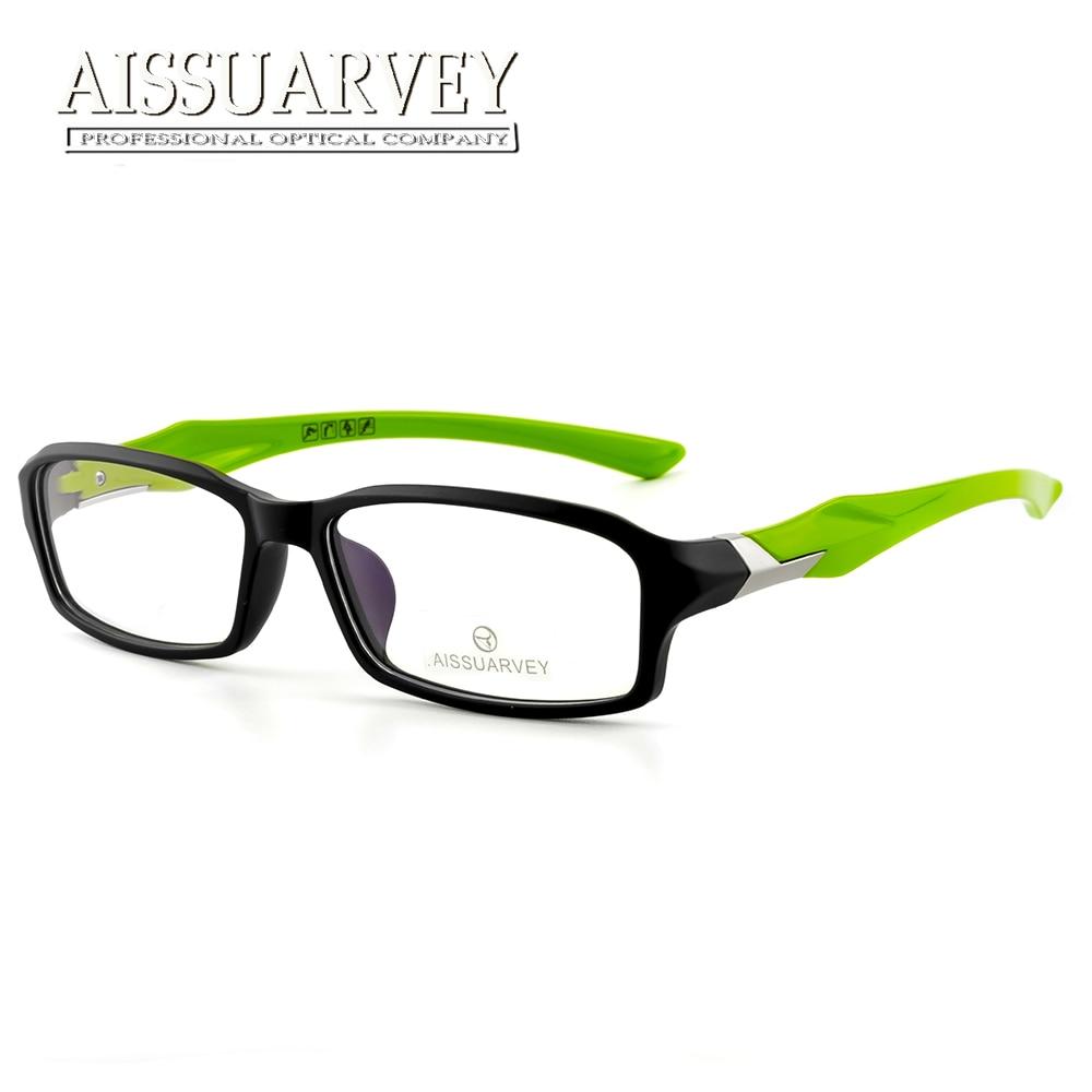 f6ca14a03e45 Sport Eyeglasses Frames for Men Optical Eye Wear Prescription Goggles for  Man Students Boys Glasses Frames with Clear Lenses