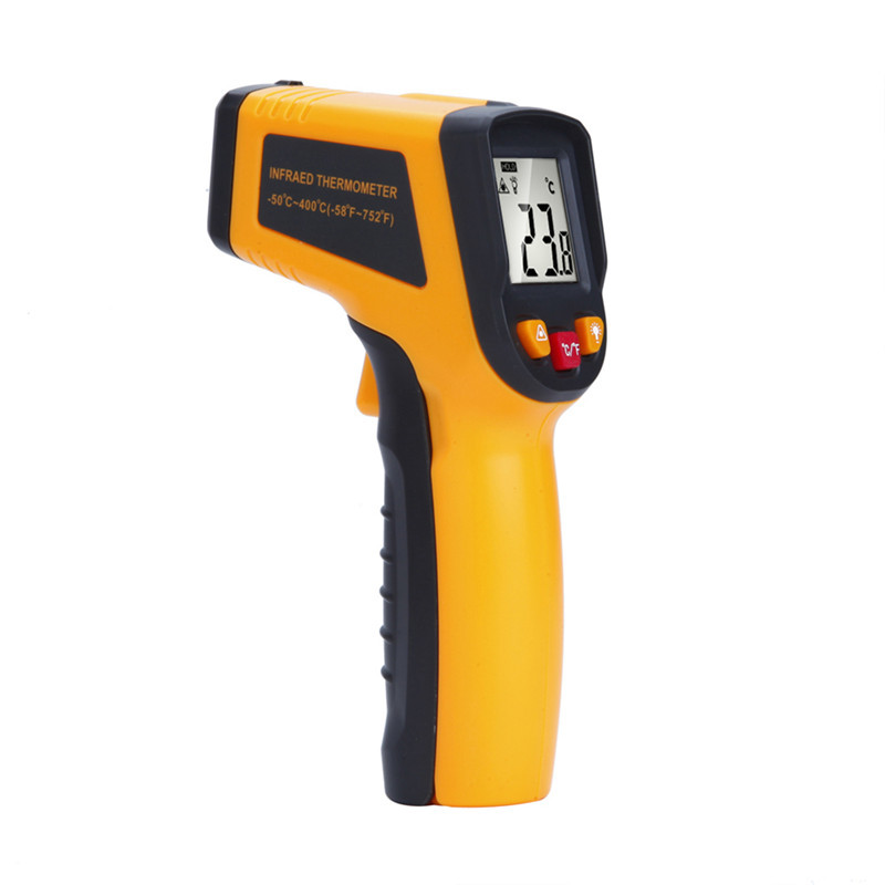 High-tech Non contact Digital Laser infrared thermometer TN400 -50~400C Temperature Pyrometer IR Laser Point Gun