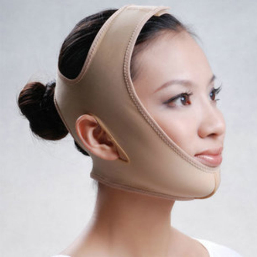 1pc Face Lift up Belt Thining Facial Slimming Belt V-line Lifting Bandage Double Chin Face Mask