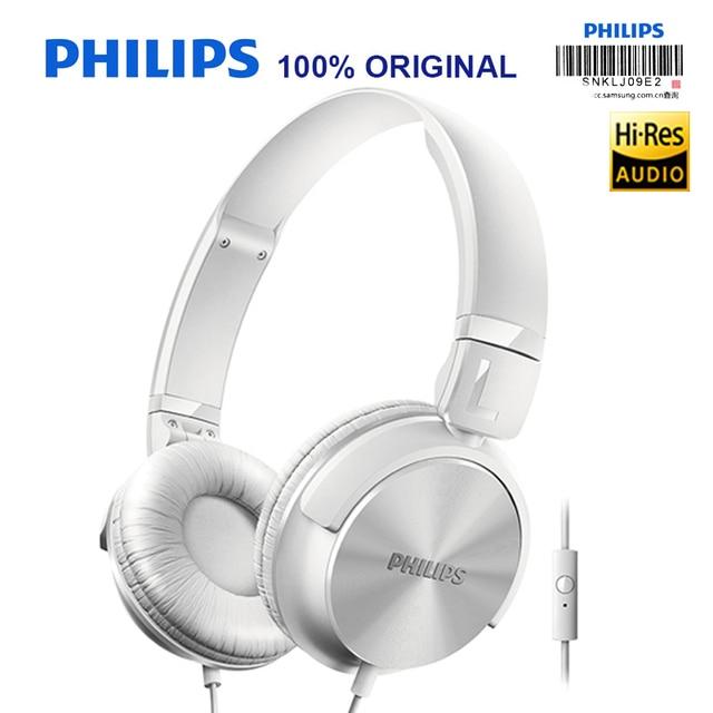 Philips SHL3065 Wired Cuffia con Microfono Noise Reduction Controllo di  Legare Della Fascia Disegno per Xiaomi 36495e8fb587