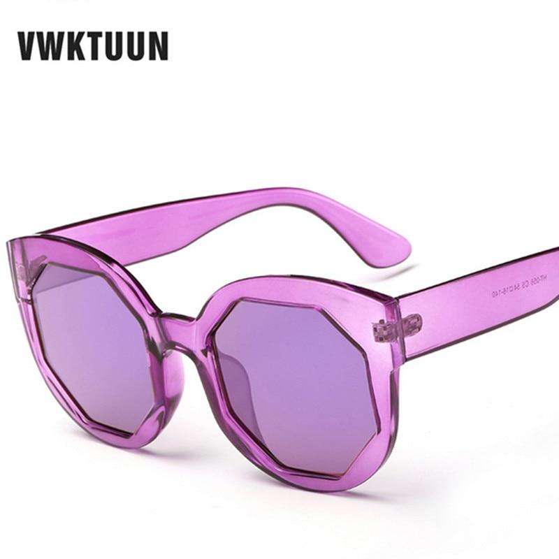 VWKTUUN Candy Color Film Sunglass Men Women 2017 Vintage ...
