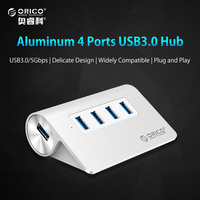 ORICO M3H4 SV Aluminum High Speed Mini 4 Port Micro USB 3 0 HUB With CE