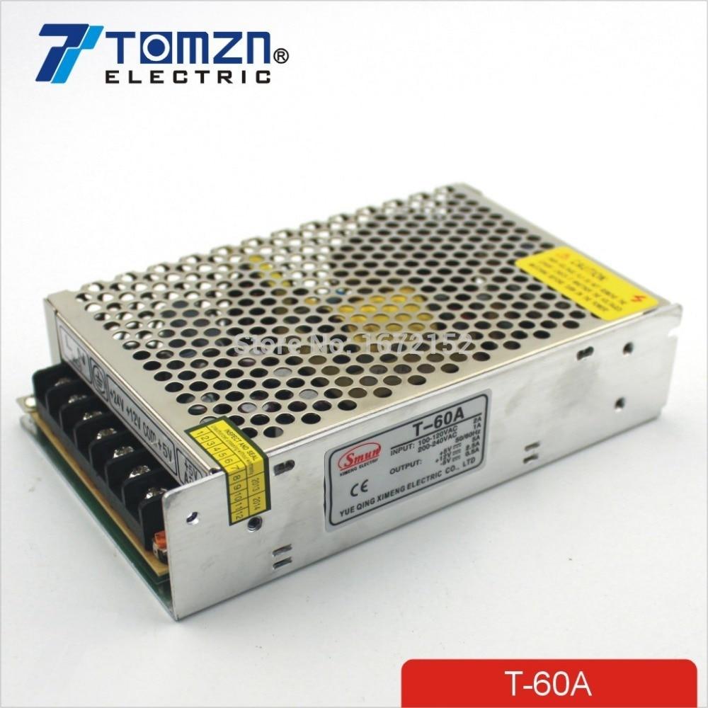 60W A Triple output 5V 12V -5V Switching power supply smps AC to DC60W A Triple output 5V 12V -5V Switching power supply smps AC to DC