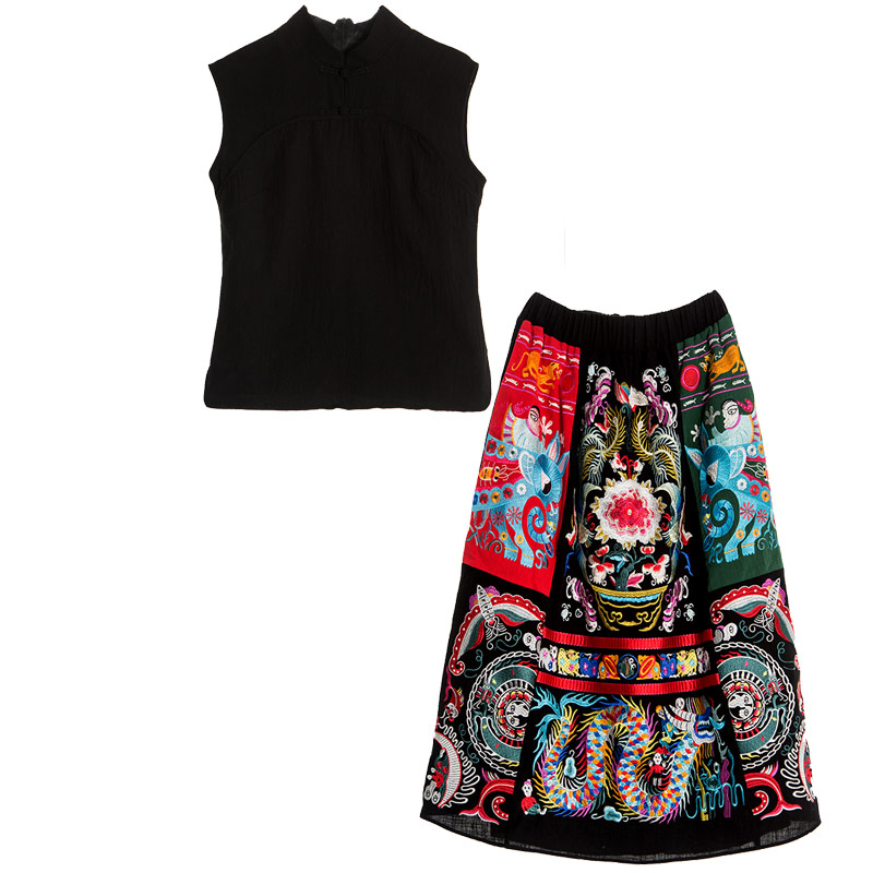Fashion Skirt Set Ladies  3