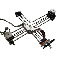 Assembled X Y Axis DIY Lybot draw drawing writing robot with Pen full aluminum metal stable 12V5A Engraving area 320*220mm