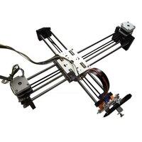 X Y Axis Собранный полностью алюминиевый металлический стабильный 12V5A гравировальный уголок 320*220 мм DIY Lybot draw для рисования и письма робот с руч