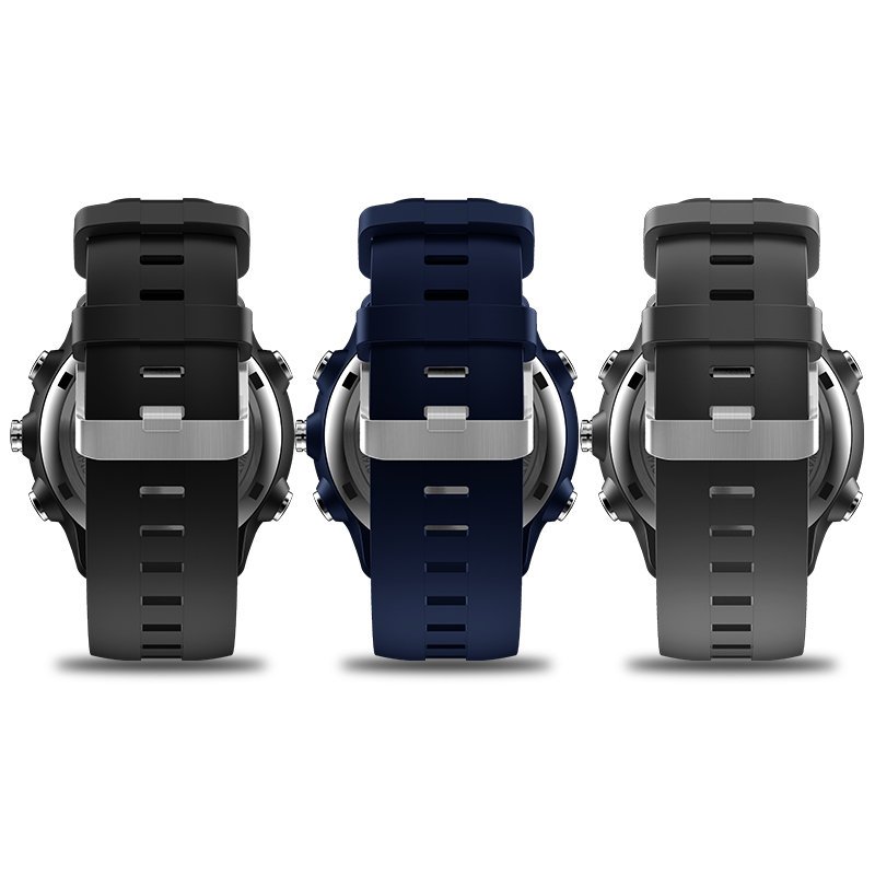 New Zeblaze VIBE 4 Hybrid Flagship Rugged Smartwatch 50M Waterproof 33-month Standby Time 24h All-Weather Monitoring Smart Watch 22